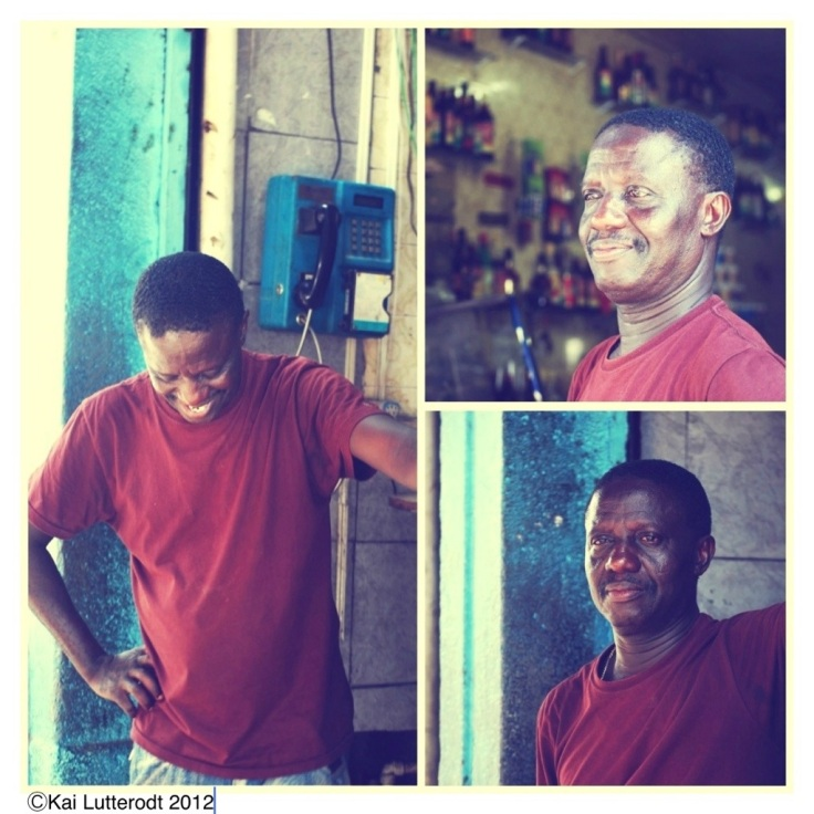 Ghanaian bar owner