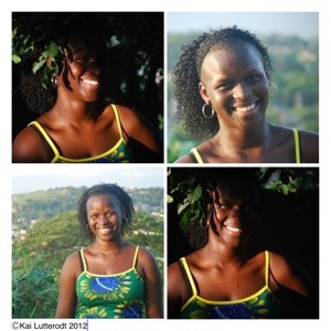 I am Afro-Brazilian, Patricia in her home town Novo Iguacu, Rio