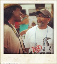 Meeting Spike Lee in Brazil