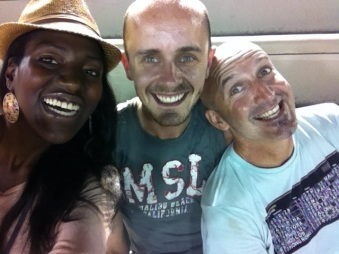 Couchsurf friends in Rio