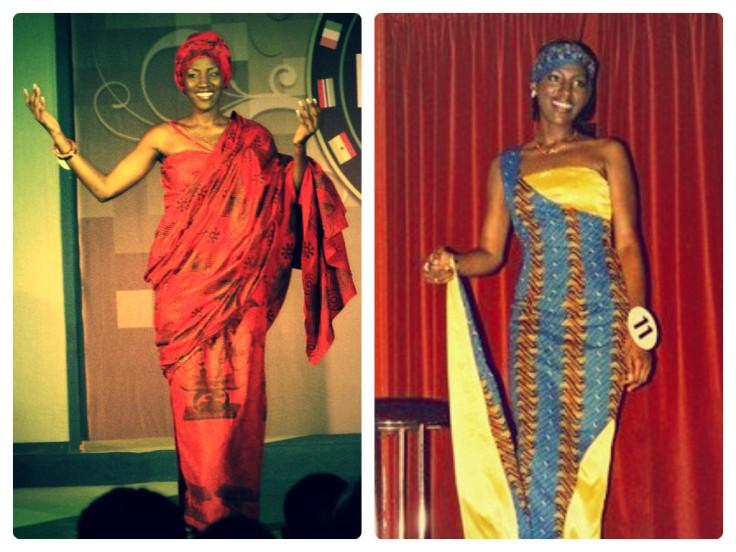 Beauty Pageants Traditional Wear