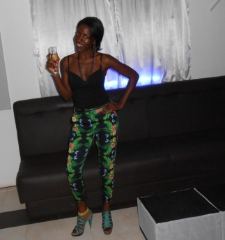 The night life in Accra