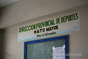 the venue in Hato Mayor