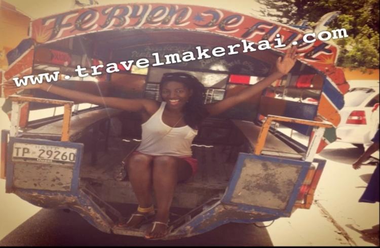 Wanna ride on my tap-tap?... Haitian local transportation