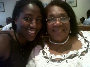 Tabom descendants... with my aunty Marian on her 70th birthday a few years ago.
