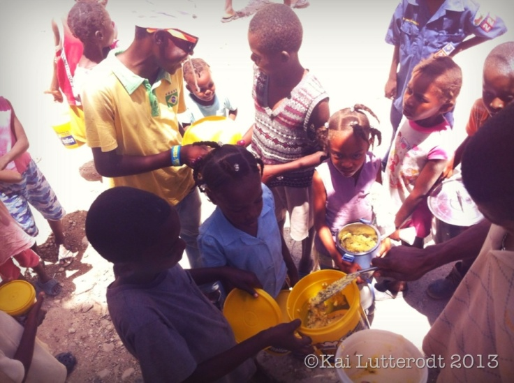 $0.18 cents per child... A small price to pay for these children to get a nutricious meal each day