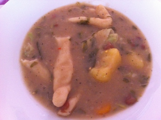 Haitian Bouillon: traditional soup