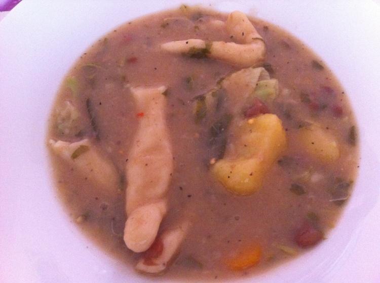 Haitian Bouillon: traditional soup