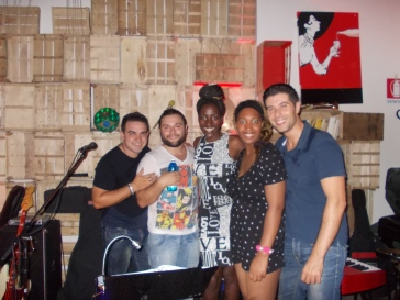 with the band - The Sleepers - Palermo