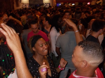 Party on the streets of Palermo