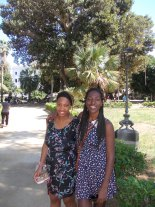 Italy with my sister