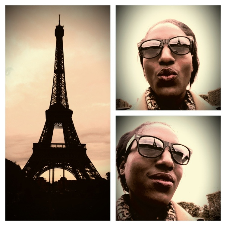 My sights on Paris... Visiting the Eiffel Tower