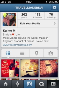 Are you on Instagram? Insta-add me!