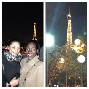 The Parisian and Londoner seeking the perfect fairytale in Paris...