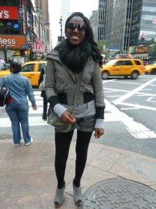 On the street of NY