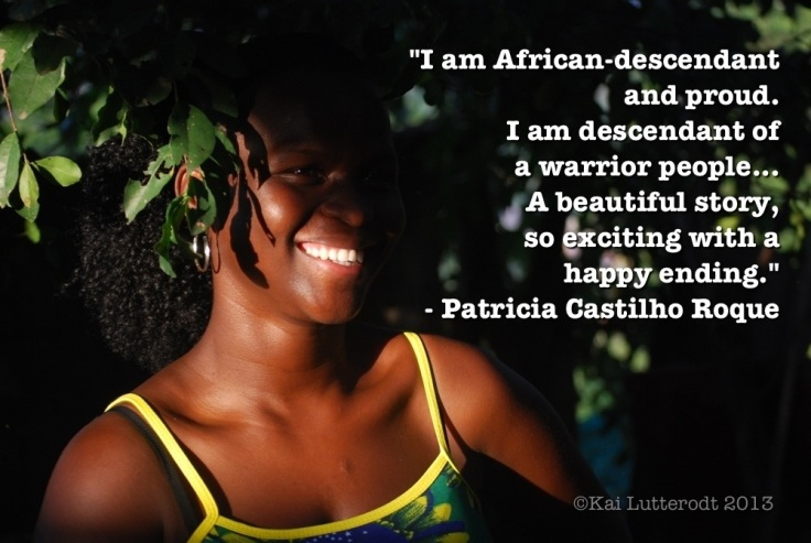 Patricia shines light on being a proud African-descendant Brazilian...