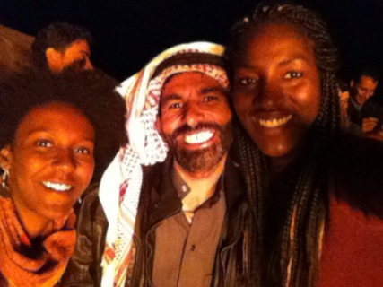 New Year 2013 in Taba with Miriam - Egypt