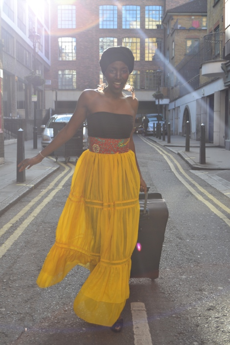 Afrocentricity in Soho… The Harmattan shoot preview