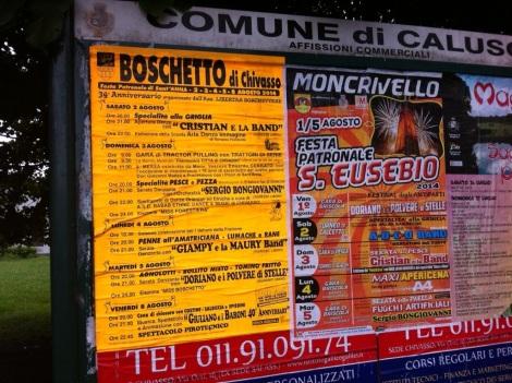 Boschetto-Chivasso festa!