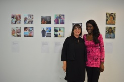 With Natalie Brett, Pro Vice-Chancellor of University of the Arts London and Head of London College of Communication