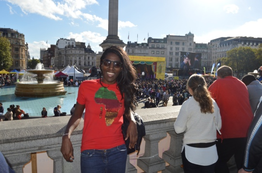 """I am a Londoner, I am English, I am British... However first and foremost; I am African"" Kai"