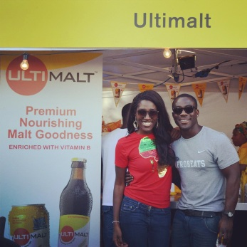Photo-op with DJ Abrantee from Capital Xtra