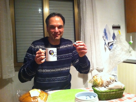 A gift from London, African Caribbean Society mug