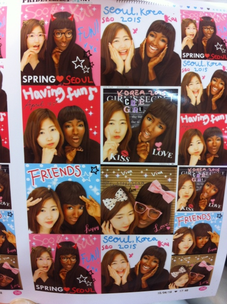 Photo booth beauty - Japanese styl