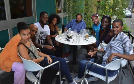Black Italians in NYC meeting