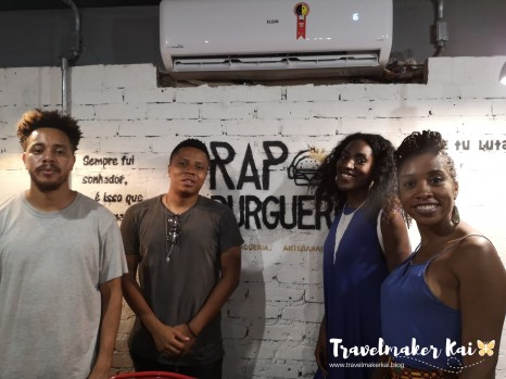 Travelmakerkai   Rap Burger