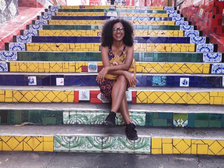 Travelmakerkai | Cintia, Escadaria Selarón