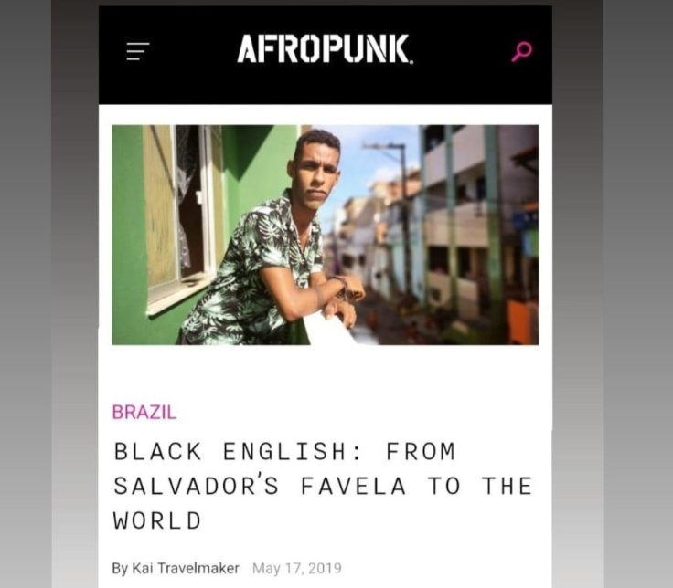 Black English AfroPunk